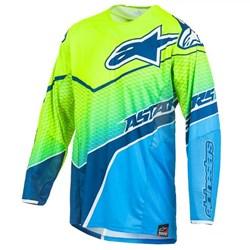 Camisa Alpinestars Techstar Venom Azul Fluor