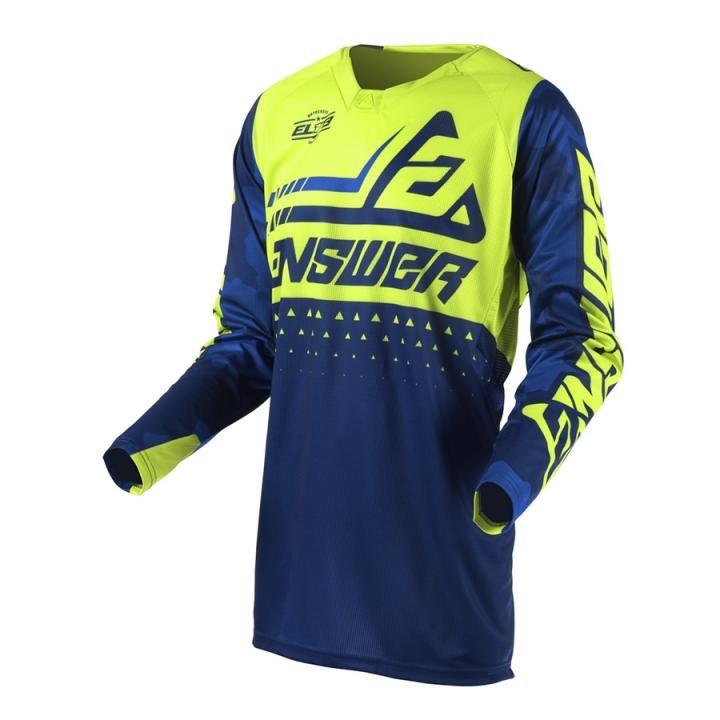 Camisa Answer Elite Verde Azul