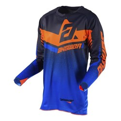 Camisa Anwer Trinity Azul Laranja