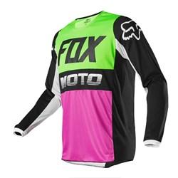 Camisa Fox 180 Fyce 2020 Verde Rosa