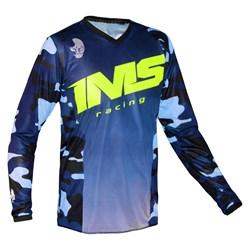 Camisa Ims Army Camo Azul