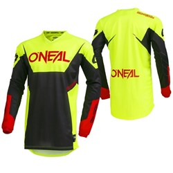 Camisa Oneal Element Racewar Amarelo Fluor