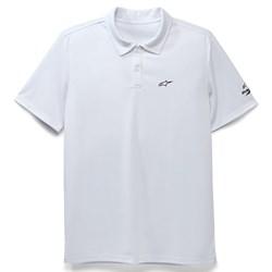Camisa Polo Alpinestars Scenario Perform Branco