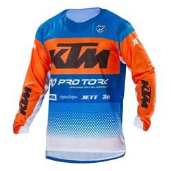 Camisa Pro Tork Ktm Factory Edition Azul Laranja