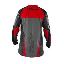 Camisa Protork Insanex Cinza Vermelho
