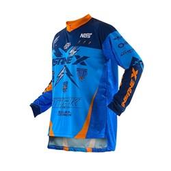 Camisa Protork Insanex Infantil Azul Laranja