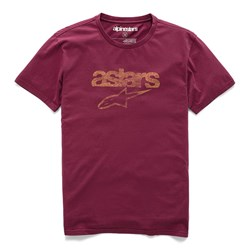 Camiseta Alpinestars Heritage Blaze Vinho