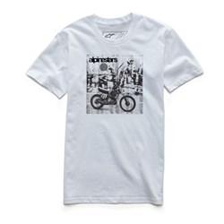 Camiseta Alpinestars Stunt Premium Branco