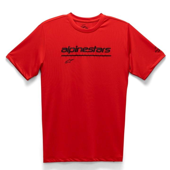 Camiseta Alpinestars Tech Line Up Vermelho
