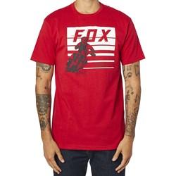 Camiseta Fox Advantage Ss Premuim Vermelho