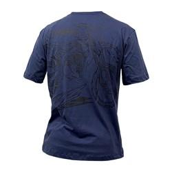 Camiseta Holeshot Yamaha Azul