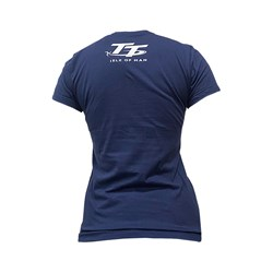 Camiseta Street Bike Feminina Isle Of Man Azul