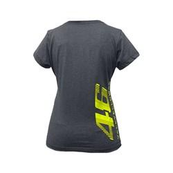 Camiseta Street Bike Feminina Vale Yellow 46 Cinza Fluor