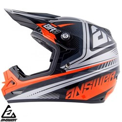 Capacete Answear Ar3 Charge Laranja