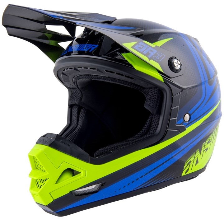 Capacete Answer Ar3 Charge Amarelo