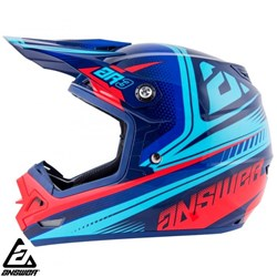 Capacete Answer Ar3 Charge Vermelho