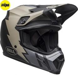 Capacete BELL MX-9 2020 KHAKI Preto Fosco
