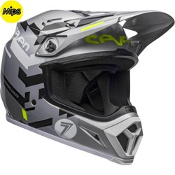 Capacete Bell Mx-9 2020 Seven Equalizer Cinza