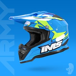 Capacete Ims Army Azul