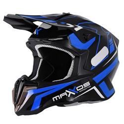 Capacete Mattos Combat Mtr02 Azul