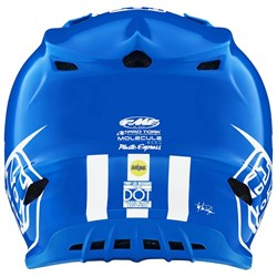Capacete Troy Lee Se4 Adidas Team Azul