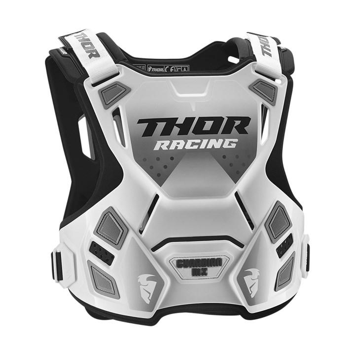 Colete Thor Guardian Mx Infantil Branco