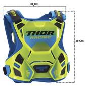 Colete Thor Guardian Mx Infantil Verde Fluor