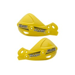 Concha Protetor de Mão Circuit Alloy Amarelo