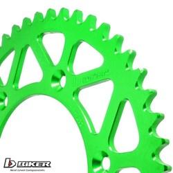 Coroa Aluminio BIKER KX 65 Verde