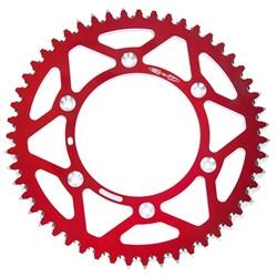 Coroa de Alumínio Crf 230 - Crf 250f - Crf 250 - Crf 450 Oxxy Vermelho