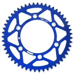 Coroa de Alumínio Kxf 250 - Kxf 450 - Klx 450 - Kx 125 - Kx 250 Oxxy Azul