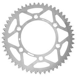 Coroa de Alumínio Kxf 250 - Kxf 450 - Klx 450 - Kx 125 - Kx 250 Oxxy Prata