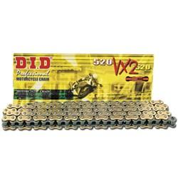Corrente Did 520vx2-120zb Gold Com Retentor