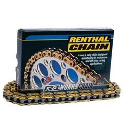 Corrente Renthal R3 520x120 Com Retentor Gold