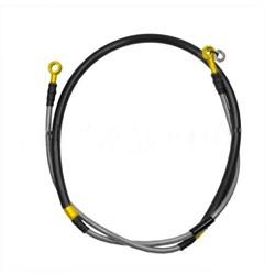 Flexível de Freio Dianteiro Crf 230 / Crf 250f Oxxy Dourado