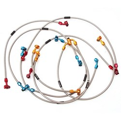 Flexível de Freio Dianteiro Kxf 250 / 450 Oxxy Preto