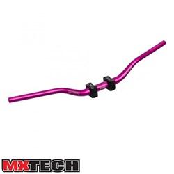 Guidão Mx Tech Fatbar Com Adaptador 32mm Rosa