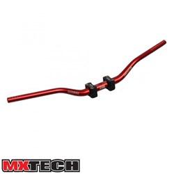 Guidão Mx Tech Fatbar Com Adaptador 32mm Vermelho
