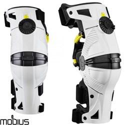 Joelheira Mobius X8 Branco Articulada Knee Brace