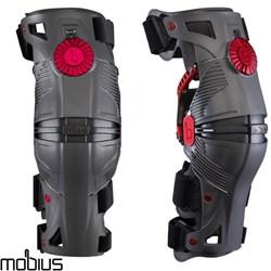 Joelheira Mobius X8 Cinza Articulada Knee Brace