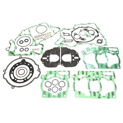 Junta Kit Completo Ktm 200 Ex 98/01 - Ktm 200 Exc 98/01 Com Borracha Athena