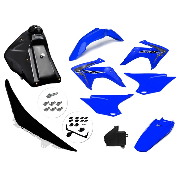 Kit Adaptavel Crf 230 Amx Avtec Cw Azul