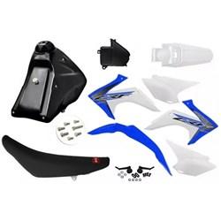 Kit Adaptavel Crf 230 Amx Avtec Cw Azul Branco