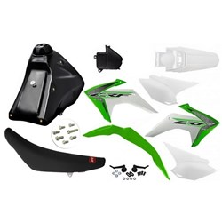 Kit Adaptavel Crf 230 Amx Avtec Cw Verde Branco