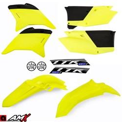 Kit Plastico AMX TTR 230 Amarelo Fluor