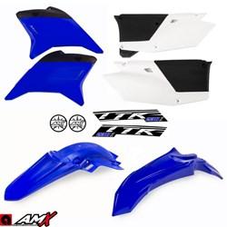 Kit Plastico AMX TTR 230 Azul Branco