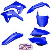 Kit Plastico Completo Crf 250f 21 Amx Azul