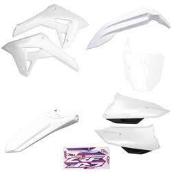 Kit Plastico Completo Crf 250f 21 Amx Branco