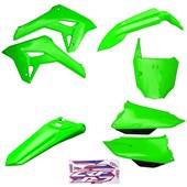 Kit Plastico Completo Crf 250f 21 Amx Verde