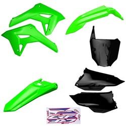 Kit Plastico Completo Crf 250f 21 Amx Verde Preto Verde